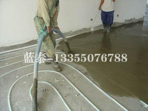 砂浆地暖垫层施工