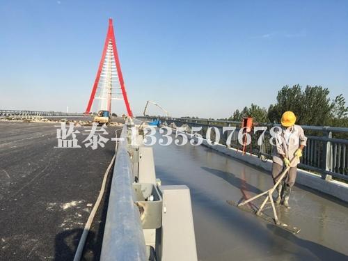 临沂祊河大桥:轻砂泡沫混凝土(设计强度5.0Mpa)